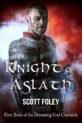 Knight of Aslath fantasy novel cover design